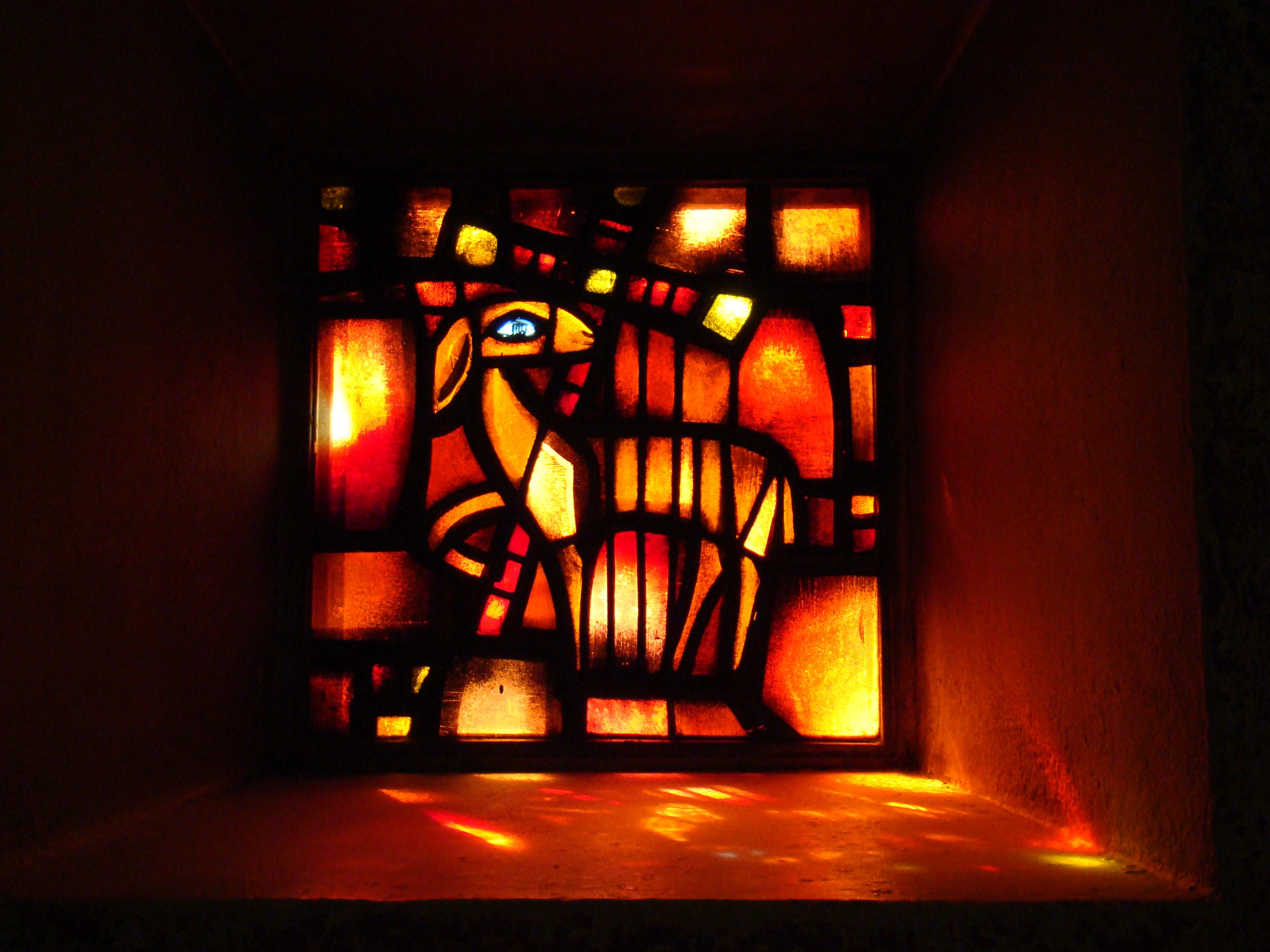 vitrail de Taizé