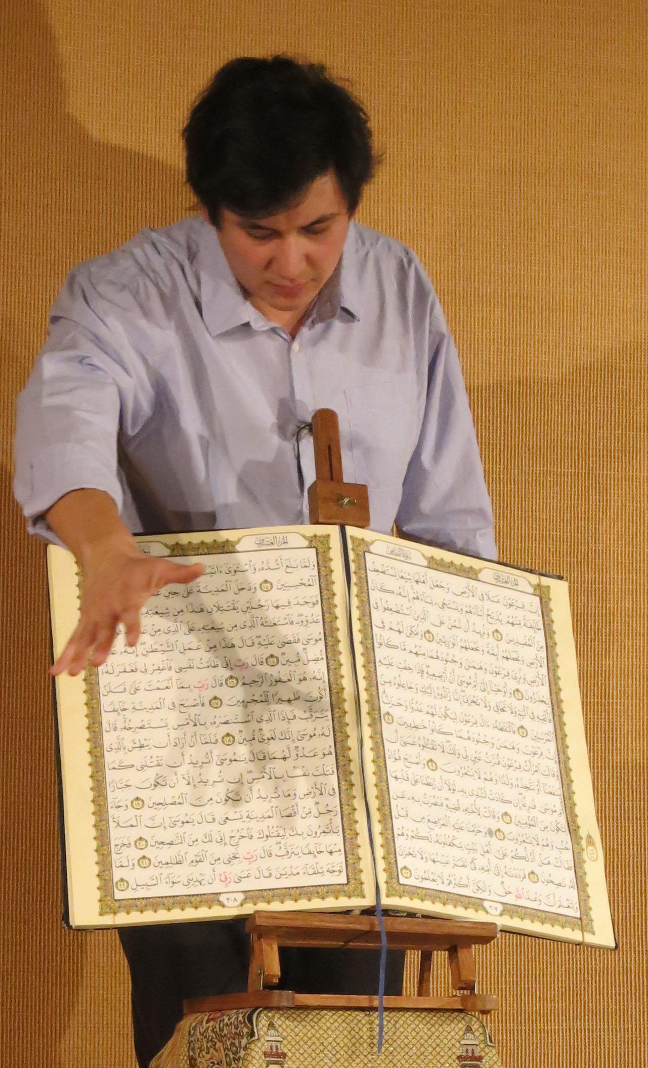 "Jean Baptiste, ""Mohamed"" et le Coran"