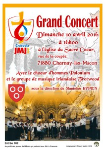Affiche concert Macon 2016
